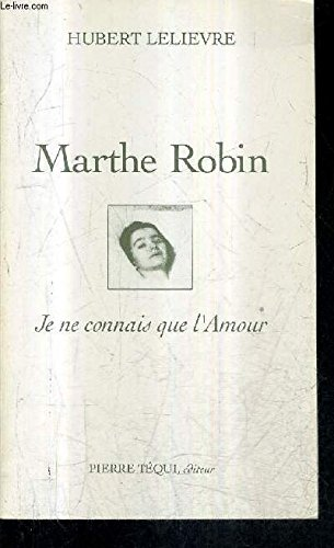 Marthe Robin: n/a