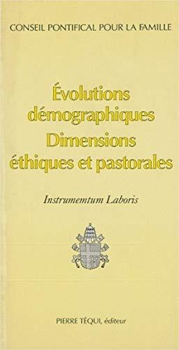 9782740302002: Instrumentum Laboris Evolutions Demographiques