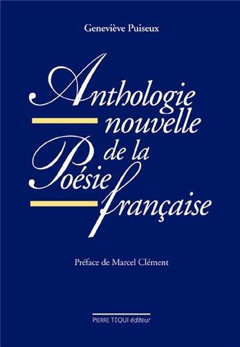 9782740308059: Anthologie nouvelle de la po�sie fran�aise
