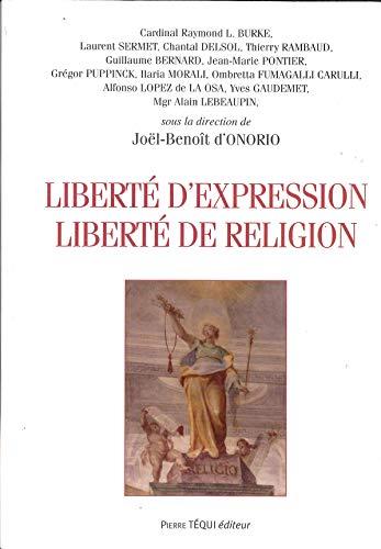 9782740318232: Liberté d'expression liberté de religion