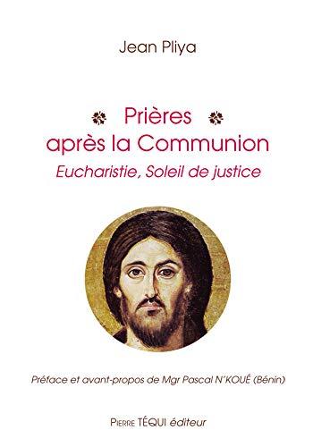 Prières après la communion: Jean Pliya
