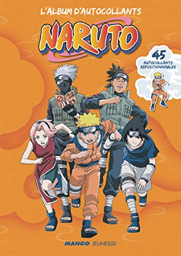 9782740423820: Album d'Autocollants Naruto ('l)