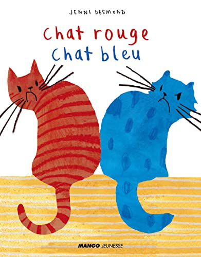 9782740431221: Chat rouge, chat bleu