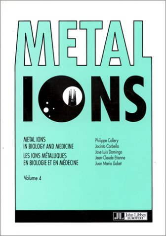 9782742001309: Metal ions in biology and medicine, volume 4