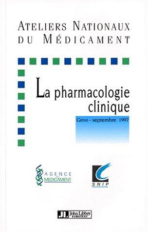 9782742002436: pharmacologie clinique 97
