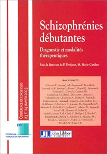 Schizophrénies débutantes (French Edition): Thierry d' Amato