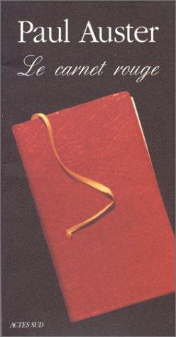 9782742700301: Le carnet rouge