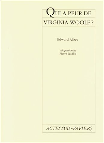 9782742704255: Qui a peur de Virginia Woolf ?