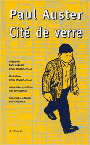 Cité de verre (2742707018) by Paul Karasik; Paul Auster; David Mazzucchelli