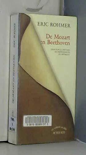 9782742708604: De Mozart en Beethoven: Essai sur la notion de profondeur en musique (Un endroit ou aller) (French Edition)