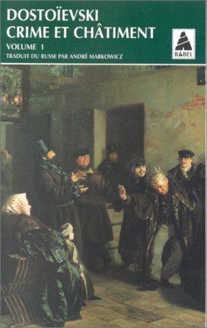 9782742709090: Crime et châtiment, tome 1