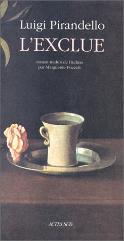 L'exclue (9782742710089) by Luigi Pirandello