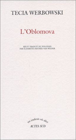 OBLOMOVA (L'): WERBOWSKI TECIA