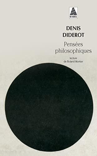 9782742714667: Pensées philosophiques