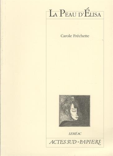 9782742714919: La Peau d'Elisa (Papiers)