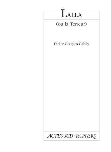 9782742714940: Lalla (ou la terreur) (French Edition)