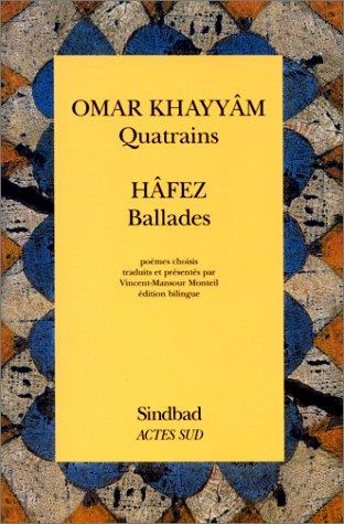 9782742718214: Quatrains, Ballades