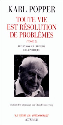9782742718610: Toute vie est une résolution de problèmes