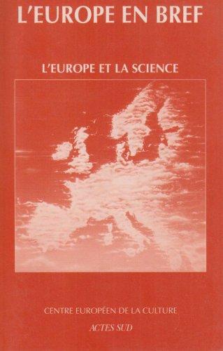9782742719792: L'Europe et la science