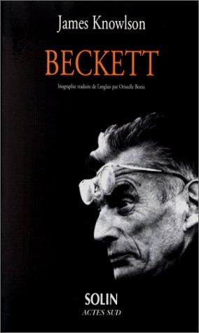 9782742720453: Beckett biographie (Solin)
