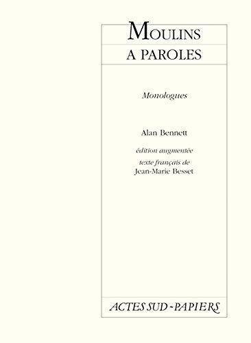 9782742723416: Moulins à paroles : Monologues