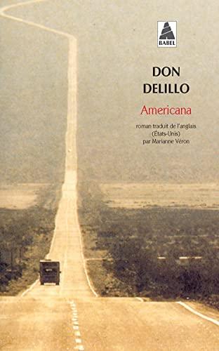 AMERICANA -BAB420-: DELILLO DON