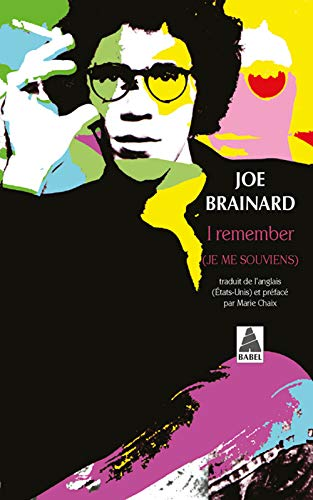 9782742735396: I remember (French Edition)