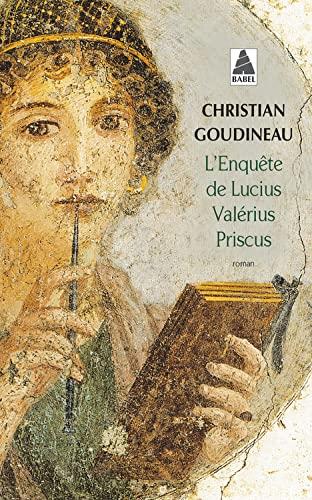 9782742765331: L'Enquete De Lucius Valerius Priscus (French Edition)