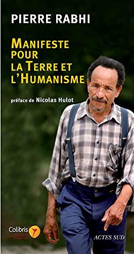 9782742778522: Manifeste pour la Terre et l'humanisme (French Edition)