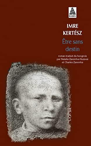 9782742784899: Etre Sans Destin (French Edition)