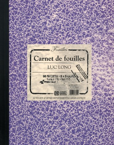 Luc Long & Mark Dion: Carnet de Fouilles, Lab Book: David Djaoui, Luc Long, Mark Dion