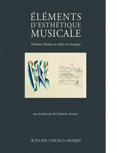 ELEMENTS D ESTHETIQUE MUSICALE: COLLECTIF