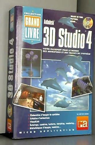 9782742903849: GRAND LIVRE 3D STUDIO 4