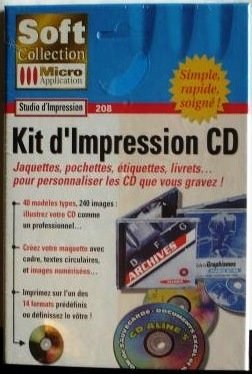 9782742911325: KIT D'IMPRESSION CD JAQUETTES POCHETTES ETIQUETTES LIVRETS (Soft Collection)