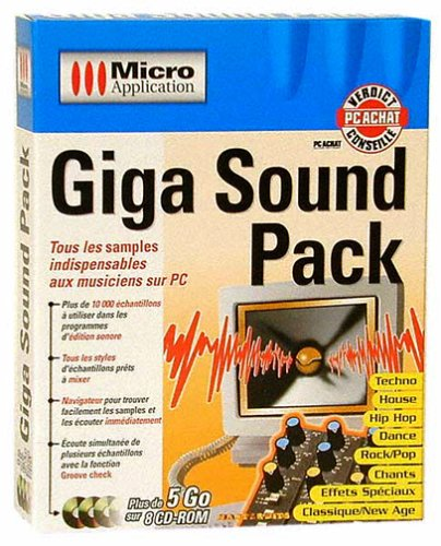 9782742914456: GIGA SOUND PACK - 10,000 ECHANTILLONS (Informatique)