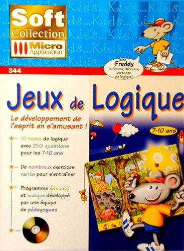 9782742918614: Jeux de logique. Le développement de l'esprit en s'amusant ! CD-ROM (Soft Collection)