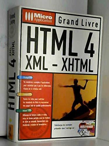 HTML 4, XML, XHTML