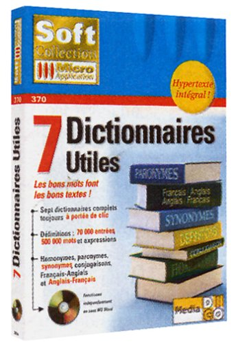 9782742920341: 7 dictionnaires utiles. CD-ROM (Soft Collection)