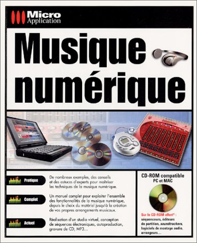 9782742921058: Musique numérique (avec CD-Rom)