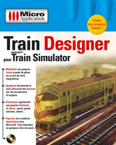 9782742923618: Train Designer pour Microsoft Train Simulator