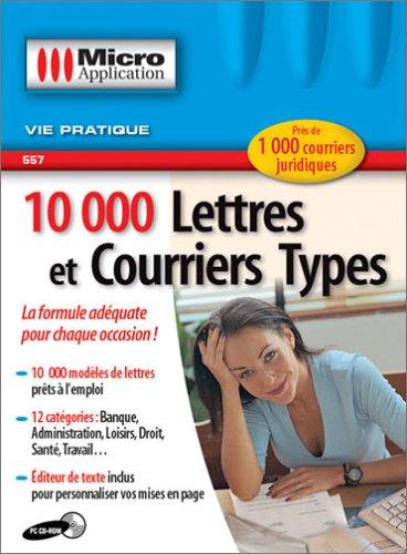 9782742929597: 10 000 lettres et courriers types