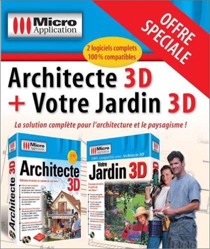 9782742930968: Architecte 3D + Votre jardin 3D