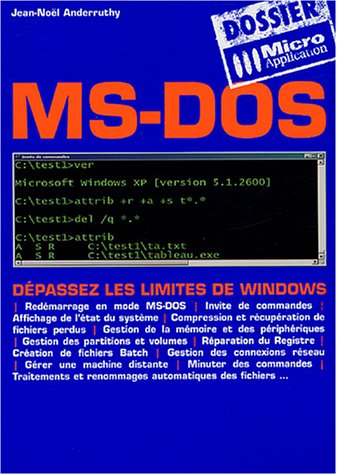 9782742936595: MS-DOS