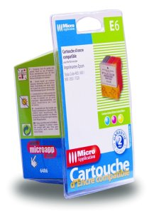 9782742954063: Ink Cartridge compatible with Epson E6 Colour
