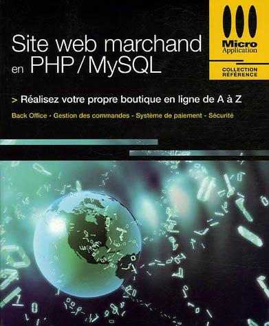 9782742962945: Site web marchand en PHP/MySQL
