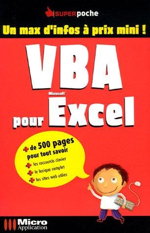 VBA pour Excel: n/a