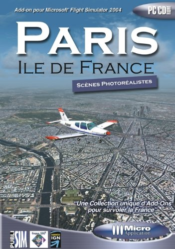 9782742967988: Add-on pour Flight Simulator : Paris Ile de France