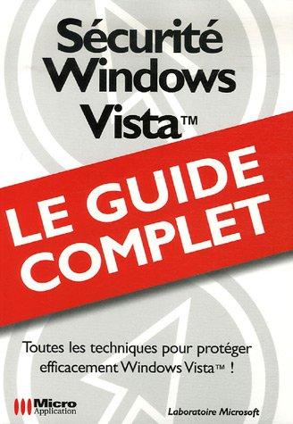 9782742968657: Sécurité Windows Vista