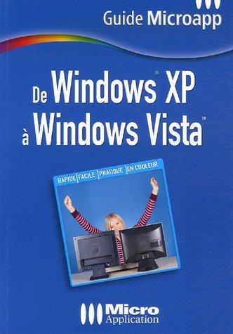 De Windows XP ? Windows Vista: Abou, Olivier
