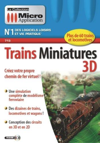 9782742981861: Trains Miniatures 3D